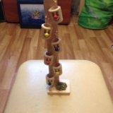 Деревянная игрушка ведрышки. Фото 2.