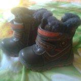 Зимние сапожки. Фото 1. Лиски.