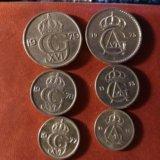Монеты швеции. Фото 1.