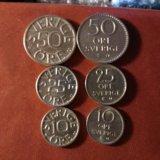 Монеты швеции. Фото 2.