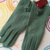 Кашемировые перчатки. Фото 1.