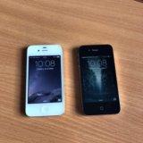 Iphone 4s 16gb чёрный и белый. Фото 1.