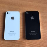 Iphone 4s 16gb чёрный и белый. Фото 3.