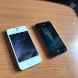Iphone 4s 16gb чёрный и белый. Фото 2.