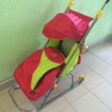 Санки коляска. Фото 1.