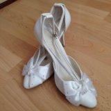 Туфли одевала на свадьбу один раз. Фото 2.