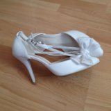 Туфли одевала на свадьбу один раз. Фото 1.
