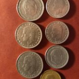 Монеты испании. Фото 1.