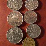 Монеты испании. Фото 2.