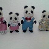 Sylvanian families семья панд. Фото 1.