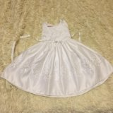 Платье белое 104. Фото 3. Кубинка.