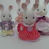 Sylvanian families семья кроликов. Фото 1.