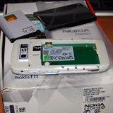 Nokia e71 white. Фото 1. Коломна.