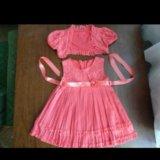 Платье с накидкой. Фото 2.