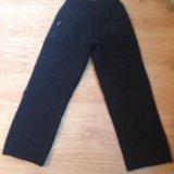 Утеплённые брюки, новые рост 134. Фото 1.