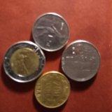 Монеты италии. Фото 2. Санкт-Петербург.