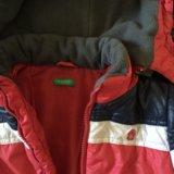 Куртка классная benetton. Фото 1.