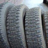 Шипованные шины данлоп. Фото 1.