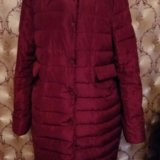 Куртка удлиненная пуховик. Фото 2. Санкт-Петербург.