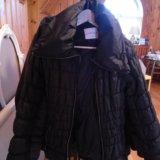 Куртка черная, размер 42. Фото 1.
