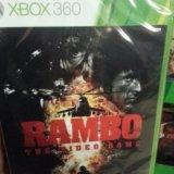 Rambo xbox 360. Фото 1.
