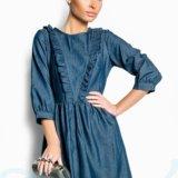 Джинсовое платье. Фото 2.