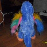 Интерактивная игрушка попугай повторюшка говорящий. Фото 1. Уфа.