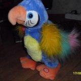 Интерактивная игрушка попугай повторюшка говорящий. Фото 4. Уфа.