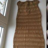Золотое платье. Фото 1.