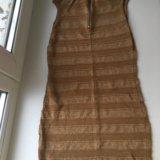 Золотое платье. Фото 2.