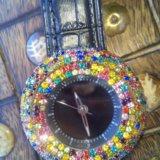 Часы новые со стразами, на дисплее цифры. Фото 3.