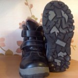 Детские полу-ботиночки с мехом. Фото 2.