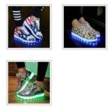 Neo-кроссовки со святящейся подошвой. Фото 4.