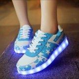 Neo-кроссовки со святящейся подошвой. Фото 3.