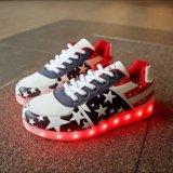 Neo-кроссовки со святящейся подошвой. Фото 2.