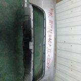 Передний бампер mitsubishi autlender xl 2007. Фото 1.