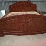 Кровать 2х спальная. Фото 2. Большевик.