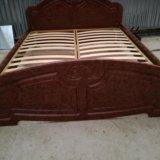 Кровать 2х спальная. Фото 3. Большевик.