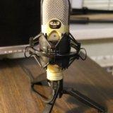 Конденсаторный студийный микрофон cad u37. Фото 1. Пятигорск.