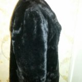 Шуба мутоновая размер 48-50. Фото 3.