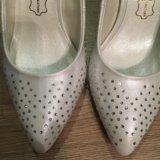 Свадебные туфли, размер 36-37. Фото 2.