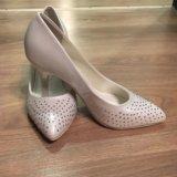 Свадебные туфли, размер 36-37. Фото 4.