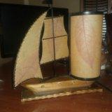 Кораблик ночник. Фото 1.
