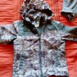 Куртка ветровки+флиска 110-116. Фото 1. Санкт-Петербург.