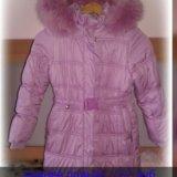 Зимнее пальто для девочки. Фото 1.