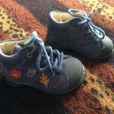 Ботинки,18 размер.материал верха-нат. нубук. Фото 1.