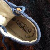 Ботинки,18 размер.материал верха-нат. нубук. Фото 2.