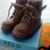 Ботинки для мальчика. Фото 1.