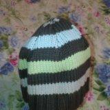 Вязаная шапочка. Фото 1.