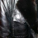 Куртка кожанная мужская зимняя. Фото 1.